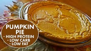 Splenda Easy Pumpkin Pie by High Protein Pumpkin Pie With Kara Corey Youtube