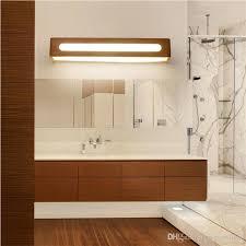 großhandel nordic led wandleuchte einfache japanische massivholz schlafzimmer nachttischle wohnzimmer studie spiegel frontle spiegelschrank