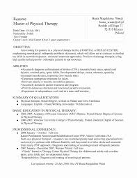 Respiratory Therapy Resume Samples New Therapist Examples Res Full Size
