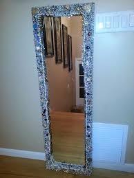 Mosaic Bathroom Mirror Diy by 74 Best Mirror Images On Pinterest Mirrors Mirror Mirror And Mirror