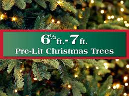 12 Ft Prelit Christmas Tree 7 Lit Artificial Trees Foot Pre Costco
