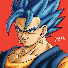 Vegetto SSJ Blue Beyond Ivan Dragon Ball Dragon Ball