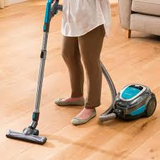 Bissell Hardwood Floor Cleaners by Shop Bissell Hard Floor Expert Cordless Bagless Canister Vacuum At