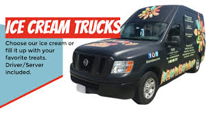100 Ice Cream Trucks For Rent Catering Custom Branding Equipment Als