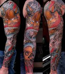 Japanese Sleeve Tattoo Designs On Tattoos Erick Lynch