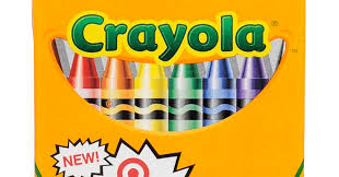crayola target including target red and walmart crayons what s
