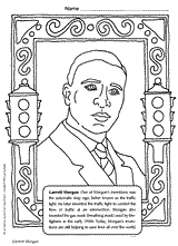 Startling Black Inventors Coloring Pages History Month Book Page Of African