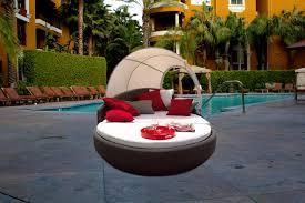 Outdoor Wicker Bed Basket