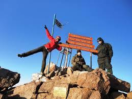 Our Very Happy Clients On Mount Kenya Peak 4985m