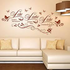 details zu wandtattoo lebe lache liebe spruch zitat wohnzimmer deko idee wandaufkleber