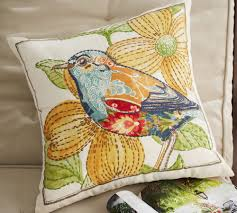 Anna Marie Embroidered Bird Indoor/Outdoor Cushion | Cushion ... Sleek Rolled Arm Small Living Room Fniture 2 Removable Back 7 Ways To Decorate With White Totes Bubble Umbrella Contemporary Outdoor Cushions And Pillows By Pottery Barn Pillow Bright Colors Stripes Polka Sunbrella Saratoga Inoutdoor 12x18 Ebay The Best Of Bed And Bath Ideas New Of Gallery Katrea Print Cushion Deck Pinterest Decking Pergola Fire Pit Sunny Side Up Blog Snowflake In The Air Inoutdoor Ca Spooky House Projects