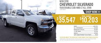 Wilsonville Chevrolet | A Portland, Salem, And Vancouver, WA ... Chevy Truck Rebates Mulfunction For Several Purposes Wsonville Chevrolet A Portland Salem And Vancouver Wa Ferman New Used Tampa Dealer Near Brandon 2019 Ram 1500 Vs Silverado Sierra Gmc Pickup 2018 Colorado Deals Quirk Manchester Nh Phoenix Specials Gndale Scottsdale Az L Courtesy Rick Hendrick In Duluth Near Atlanta Munday Houston Car Dealership Me On Trucks Best Of Pre Owned Models High