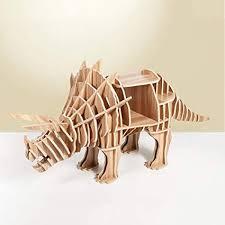 llan bücherregal dinosaurier regal dekoration 3d diy