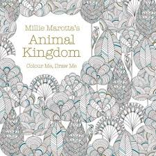 Animal Kingdom Colouring Book Fox We Explore The Trend In Adult Books And Secret