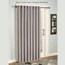 Front Door Side Window Curtain Panels by Glasgow Grommet Patio Panel