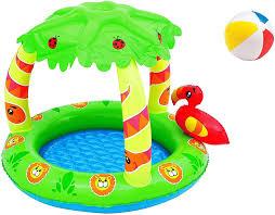 sonstige intex babypool mit dach pool planschbecken