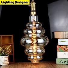 large size bulb dimmable edison bulb e27 soft led filament vintage