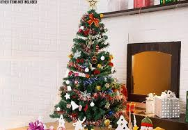Realistic Artificial Christmas Trees Nz by Christmas Tree Combo U2022 Grabone Nz