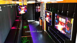 99 Game Party Truck Interior From Back Door Laser Light Show Rockin Rollin Video