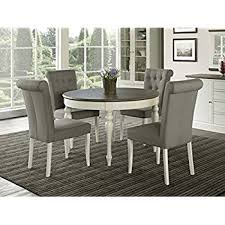 5 Piece Oval Dining Room Sets by Amazon Com Roxo Modern Style Stain Plated 5 Piece Round Dining