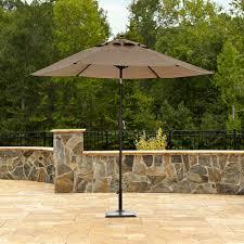 Sears Rectangular Patio Umbrella by Garden Oasis Harrison 7 Piece Home Outdoor Decoration