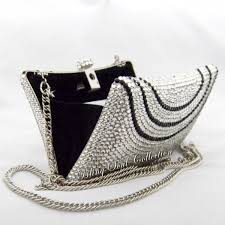 black and silver clutches trendy mods com