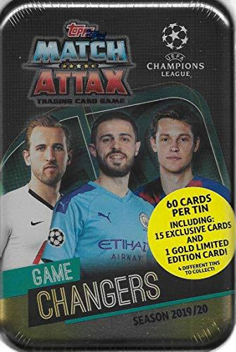 Topps 2019/20 UEFA Champions League Match Attax Midi Tin