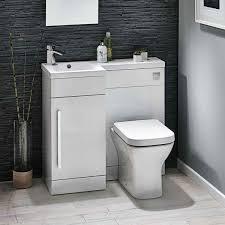 Harbour Icon 900mm Spacesaving Combination Bathroom Toilet Sink