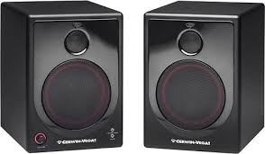 cerwin vega xd5 5 50w 2 way floor speakers pair black xd5 na