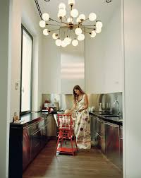 bedroom winsome galley kitchen small spaces sputnik light fixture