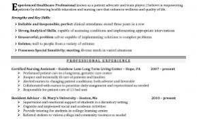 Nursing Resume Examples With Clinical Experience Australia Fresh Student Resumes Sample For Qualifications At