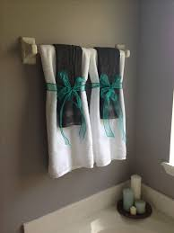 bathroom towel designs of fine ideas about decorative bathroom