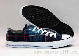 converse all plaid all plaid low top blue black converse shoes bs669597