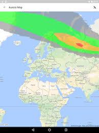 My Aurora Forecast Aurora Alerts Northern Lights Android Apps