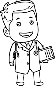 Doctor Clipart Black And White