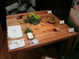 bureau bois recyclé design exterieur table bureau bois recyclé bricolage pots fleurs