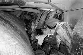 100 Aircraft Carrier Interior An Interior View Of Damage Caused To The Aircraft Carrier