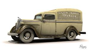 Jason Priest - 1930's Dodge Panel Delivery Truck