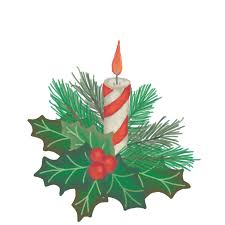 Stylized Curly Christmas Tree Vector Clipart CQRecords