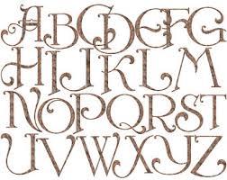 Alphabet Clip Art Old English Clipart Rusty Iron Rustic Metal