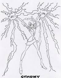 Winx Club Free Printable Coloring Pages No 9