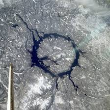 See Explanation Clicking On The Picture Will Download Highest Resolution Version Available Manicouagan Impact Crater Earth