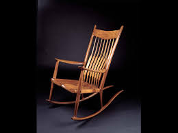 Famous For His Rocking Chair, Sam Maloof Made Furniture That Had ... Amazoncom Jackpost Kn10n Classic Childs Porch Rocker Natural Antique Rocking Chairs Seat Pastrtips Design Rocker Vintage Rocking Chair Cane Seat Antique Etsy Refishing A Chair Between3sisters Garden Tasures Wood With Slat At Lowescom Fding The Value Of A Murphy Thriftyfun Is Good The Hot Bid Whats It Worth Circa 1900 Wooden Oak High Back Spindled What Is It Worth