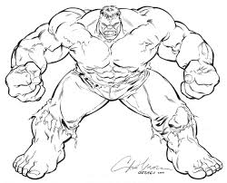Incredible Hulk Pumpkin Stencil Free by Coloring Pages Online Www Bloomscenter Com