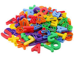 Amazon EduKid Toys 72 Magnetic Letters & Numbers Tote 1 25