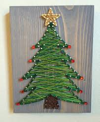 Types Of Christmas Trees In Oregon by Christmas Tree String Art Order From Kiwistrings On Etsy Www