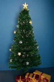White Fibre Optic Christmas Tree 5 Ft Fiber Amazon Argos 6ft