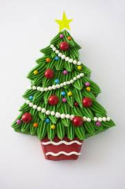 Silver Tip Christmas Tree Oregon by Buttercream Christmas Tree Cake Step By Step Cakegirls