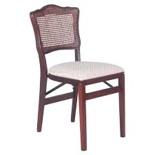 Stakmore Folding Chair Vintage by Amazon Com Stakmore French Cane Back Folding Chair Set Of 2