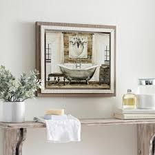 Kirklands Home Bathroom Vanity by Grand Chrome Bath Framed Art Print Kirklands